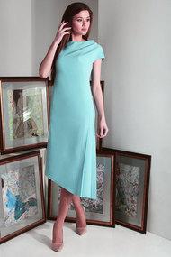 Платье Axxa 55151а бирюза