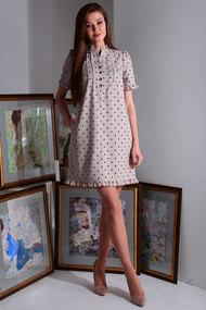 Платье Axxa 55150 беж