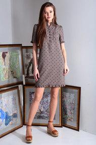 Платье Axxa 55150а капучино