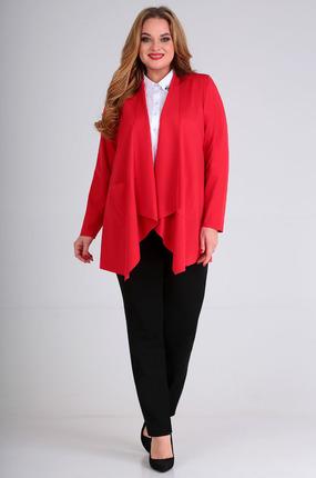 женский кардиган таир-гранд, красный