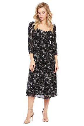 женское вечерние платье pirs, черное