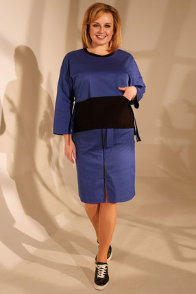 женская юбка golden valley, синяя