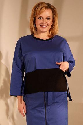 женская блузка golden valley, синяя
