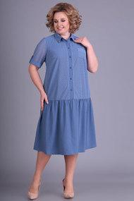 Платье Algranda 3436-с синий