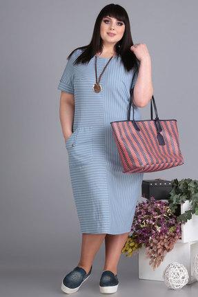 Платье Algranda 3518 голубой