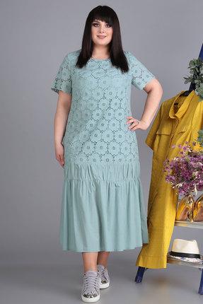 Платье Algranda 3525-с голубой