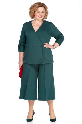 женский брючный костюм pretty, зеленый
