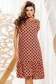 Платье Vittoria Queen 11203 кирпичный, размер