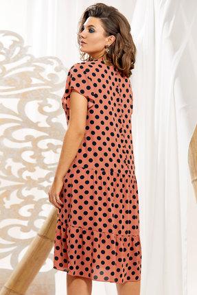 Платье Vittoria Queen 11203 кирпичный