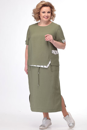 Комплект юбочный Bonna Image 519 хаки