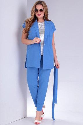 женский брючный костюм jurimex, голубой