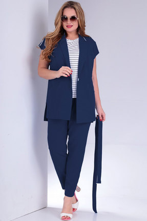 женский брючный костюм jurimex, синий