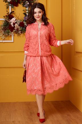 Комплект юбочный Anastasia 413.2 розовый
