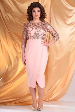 Платье Мода-Юрс 2444 персиковый