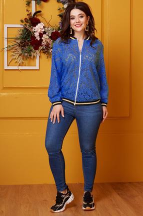 женская куртка anastasia, синяя