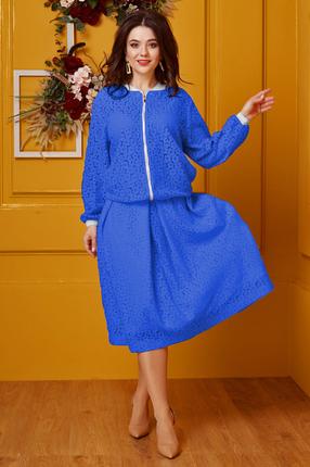 Комплект юбочный Anastasia 413.4 василек