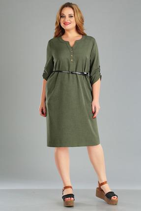 женское повседневные платье foxyfox, хаки