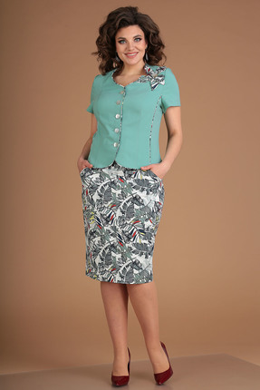 Комплект юбочный Мода-Юрс 2026 мята