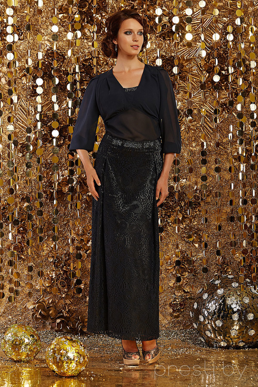 Комплект юбочный Artribbon-Lenta 2240 темно-синий