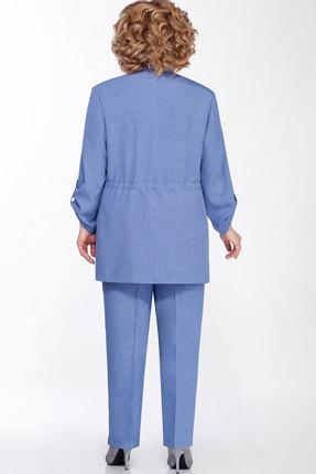 Фото 6 - Комплект брючный Emilia А-545 голубой голубого цвета