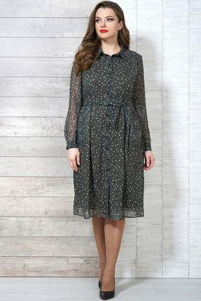 Фото - Платье Белтрикотаж 6504 зеленые тона цвет зеленые тона