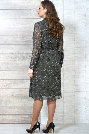 Фото 3 - Платье Белтрикотаж 6504 зеленые тона цвет зеленые тона