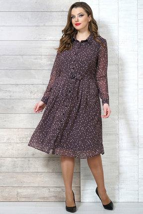 Купить Платье Белтрикотаж 6504 шоколадный цвет шоколадный