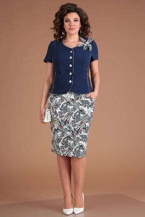 Комплект юбочный Мода-Юрс 2026 синий