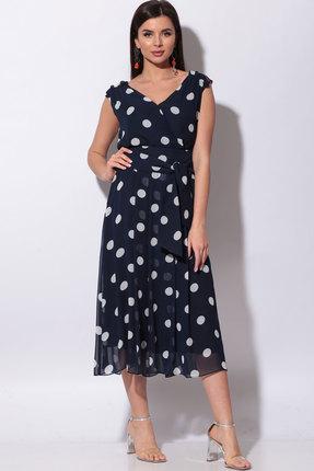 Платье Bonna Image 435 тёмно-синий