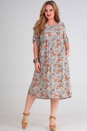 женское повседневные платье ришелье, разноцветное