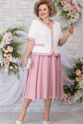 Комплект юбочный Ninele 5806 белый+пудра