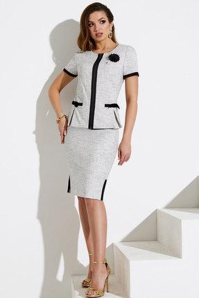 Комплект юбочный Lissana 3145 белый с черным