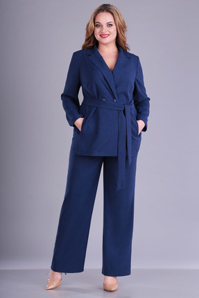 Комплект брючный FoxyFox 203 темно-синий