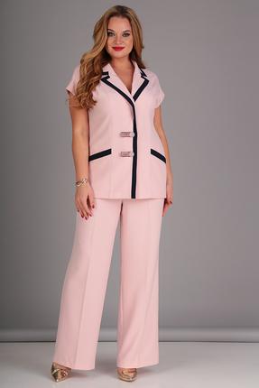 Комплект брючный Anastasia Mak 718 розовые тона