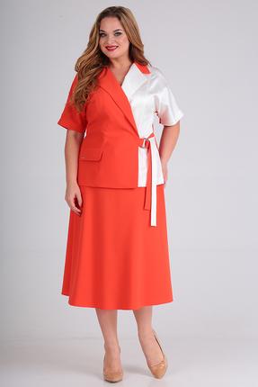 Комплект юбочный Anastasia Mak 725 коралловый
