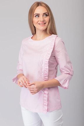 Блузка Anelli 816 розовые тона
