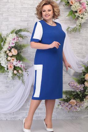 Платье Ninele 2257 василёк
