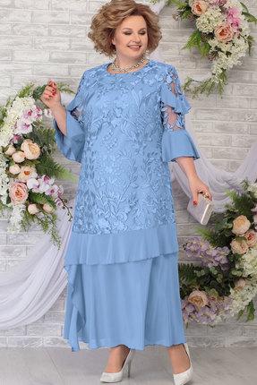 Платье Ninele 5781 голубой
