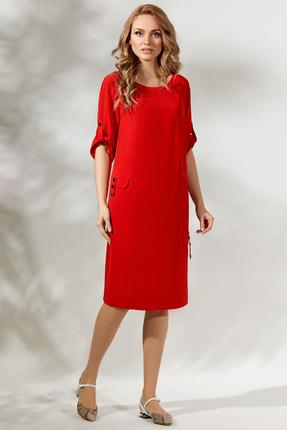 Платье Магия Моды 1716 красный
