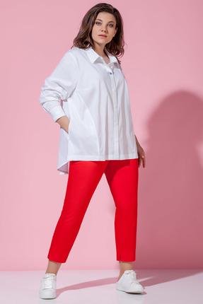 Рубашка Anna Majewska 1368 белые тона