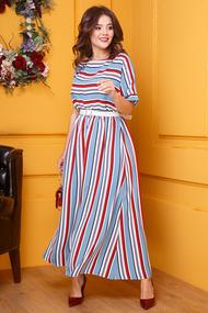 Платье Anastasia 421 голубой