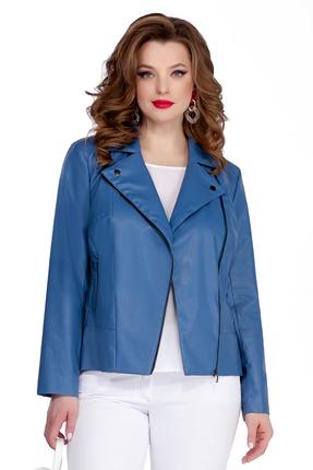 женская куртка teza, синяя