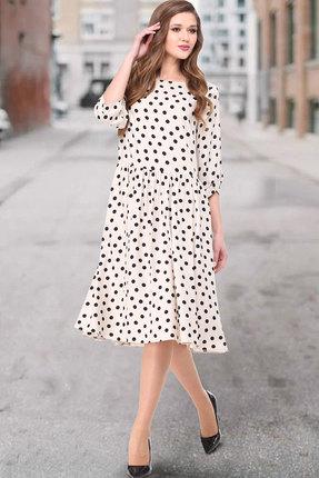 Платье ТАиЕР 843 молочный