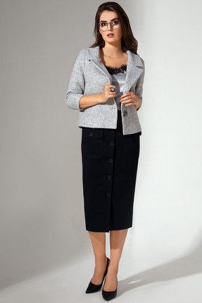 Комплект юбочный Avanti Erika 725 серый с черным
