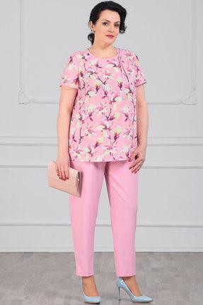 Комплект брючный Мадам Рита 5082 розовый