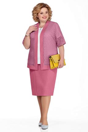 Комплект юбочный Pretty 1070 розовые тона