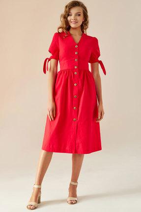 Платье Andrea Fashion AF-1 красный