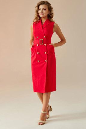 Платье Andrea Fashion AF-10 красный