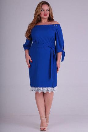 Платье SOVITA 564 синий