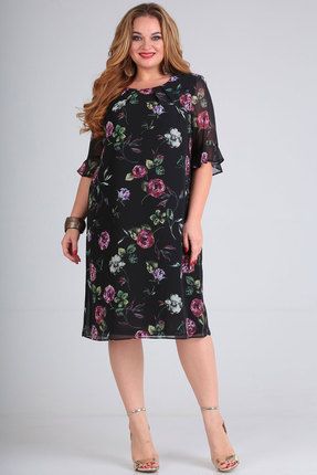 Платье SOVITA 575 черный